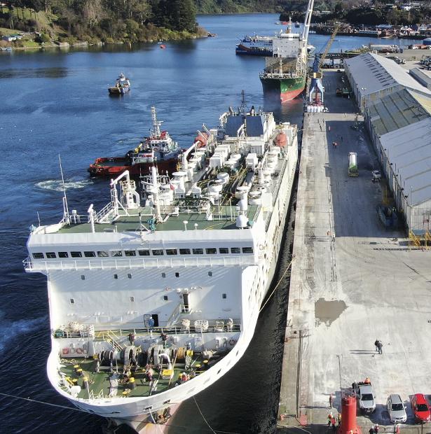 Marítimo Portuaría con <br><b><u> PATAGONIA ROV</u></b>