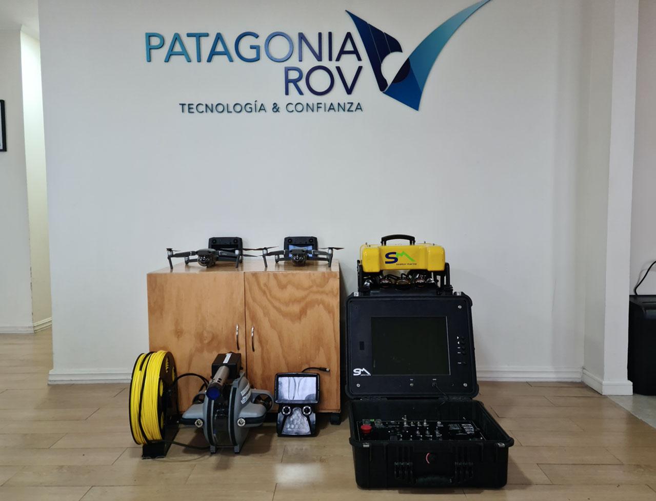 Equipos PatagoniaROV