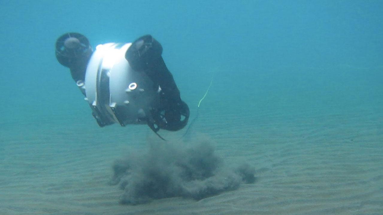 Rov en fondo marino