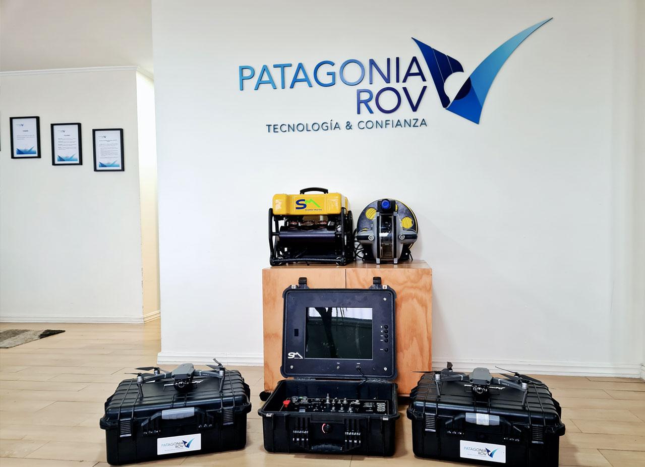 Equipos Patagonia ROV
